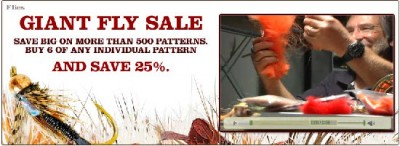 Orvis Giant Fly Sale