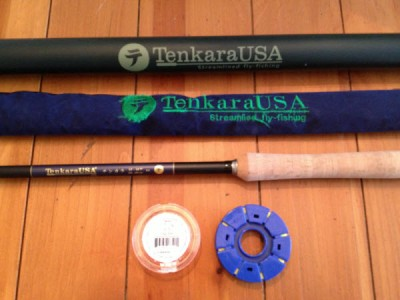tenkara fly rod setup