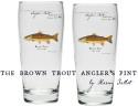 Angler's Pint Glass